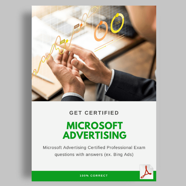 Microsoft Advertising Certification Answers