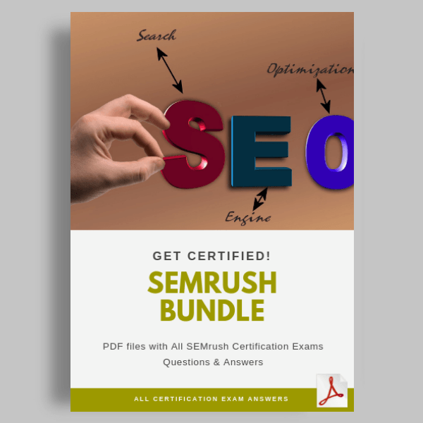 SEMrush Certification Exam Answers featured image