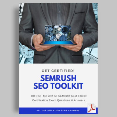 SEMrush SEO Toolkit Exam Answers featured image