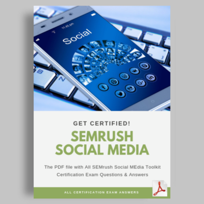 SEMrush Social Media Toolkit Exam Answers featured image