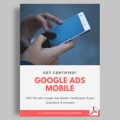 Google Ads Mobile Certification Answers Featured