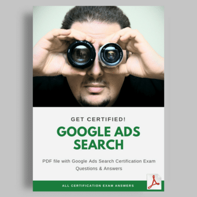 Google Ads Search cover answers