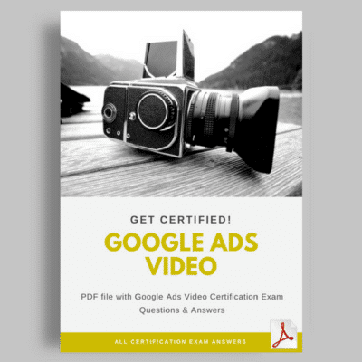 Google Ads Video Certification Answers featured