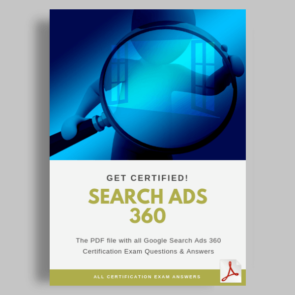 Search Ads 360 Certification Exam Answers Featured image