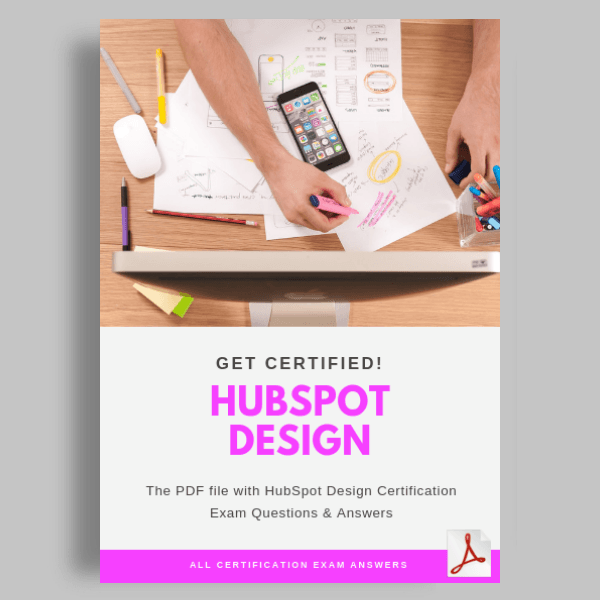 HubSpot Design Certification Test Answers featured image