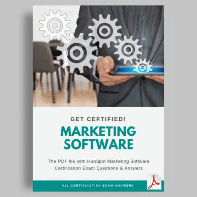 Hubspot Marketing Software Exam Answers featured image