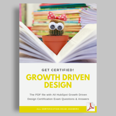Hubspot Growth Driven Design exam answers featured image