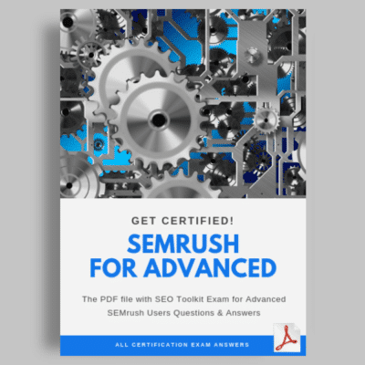 SEO Toolkit Exam for Advanced SEMrush Users answers featured image