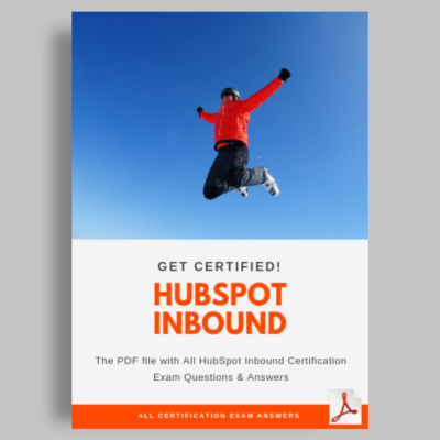 Hubspot Inbound Certification Exam Answers featured image