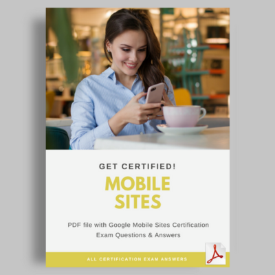 Google Mobile Sites Certification Exam Answers featured