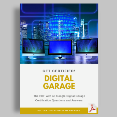 Google Digital Garage Certification Answers featured