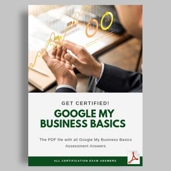 Google My Business Basics Assessment Answers cover