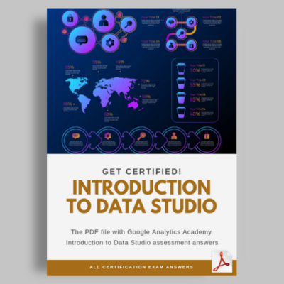 Introduction to Data Studio Certification
