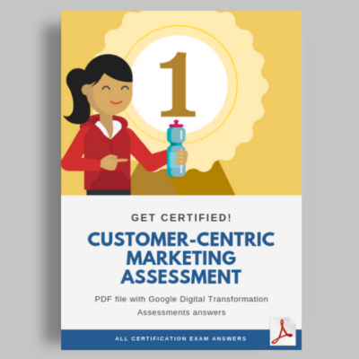 activate Customer-centric marketing assessment cover image