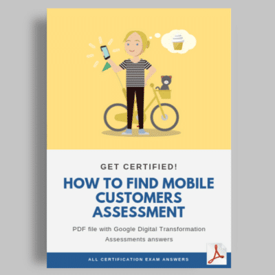 How to find mobile customers Assessment cover
