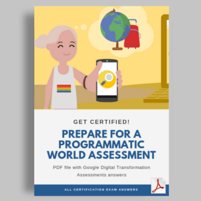 Prepare for a programmatic world assessment cover