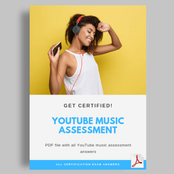 Youtube music assessment answers image