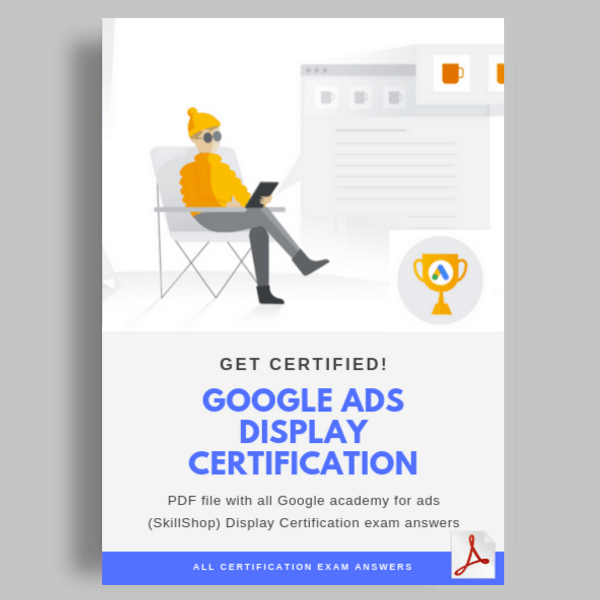 Google Ads Display Certification Exam Questions