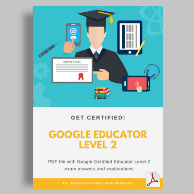 Google educator level 2 exam answers