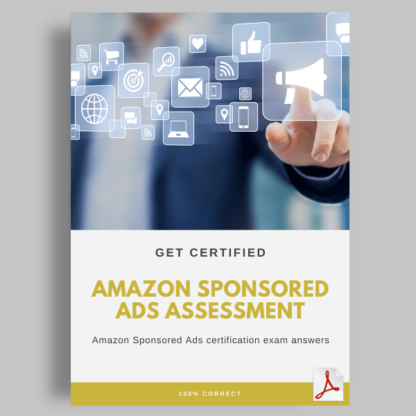 Amazon Sponsored Ads Certification Answers Cover
